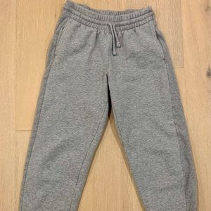 TNA grey sweatpants with side detail